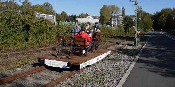 Erste BLTV-Bahnsteigparty